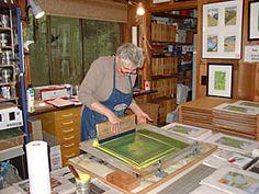 SUE ALLEN about- printmaker. book artist. exhibit coordinator. yoga teacher. architect