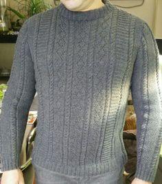 Handmade by Lady JB: Herentrui gebreid met Lang yarns Merino 120.