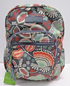 fee449e0a Vera Bradley Lighten Up Mini Campus Backpack In Nomadic Floral #VeraBradley  #Backpack Vera Bradley