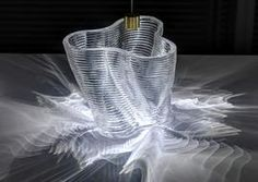 Gorgeous glass objects created with a printer. Researchers from MIT have created a printer that is able to create objects out of glass. Impression 3d, Interaktives Design, Neri Oxman, 3d Printing Materials, Building Materials, Glass Structure, 3d Printing Service, Digital Fabrication, Glass Printing