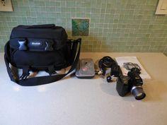 Kodak EasyShare DX7590 5.0 mp Digital Camera & Printer Dock w/Case & Accessories #Kodak