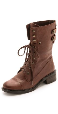 Sam Edelman Darwin Combat Boots   SHOP BP SIZE 8