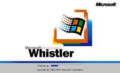 Windows whistler. Antecesor beta de Windows XP