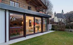 Esszimmer Haus G°E°E - HK Architektur St. Johann in Tirol Style At Home, Mansions, House Styles, Interior, Outdoor Decor, Home Decor, Houses, Modern Log Cabins, Farm Cottage