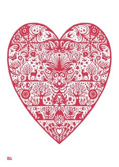 Pinner said: This is scandinavian but it's very similar to the Swiss paper cutting I grew up with <3