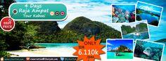 Yuk intip kekayaan alam Indonesia yang satu ini, yaitu kepulauan #Raja #Ampat yang terkenal dengan keindahan taman bawah lautnya. Buruan booking sekarang juga dan dapatkan harga spesialnya!  Dapatkan Spesial Paket tersebut dari #LiburYuk http://liburyuk.com/listpackage/4+Days+Raja+Ampat+-+Tour+Kaboei #AbbeyTravel #jalan2 #holiday