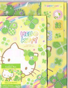 Sanrio stationery Hello Kitty letter set 1