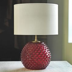 Pink Diamond Tip Table Lamp - Table Lamps - Lighting - Lighting & Mirrors