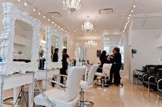 Best salon lighting curls understood miss salon small salon lighting ideas salon Natural Hair Salons, Natural Hair Styles, Unique Hair Salon, Salon Lighting, Lighting Ideas, Crystal Pendant Lighting, Beauty Salon Decor, Spa, Best Salon