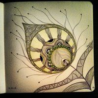 My Zendoodle 365-project, day 84 by Nadik