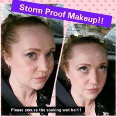 Is your makeup storm Proof?? Mine is!!  #mua #makeupaddict #makeuplover #storm #soakedtothebone www.FabuLASHCosmetics.co.uk