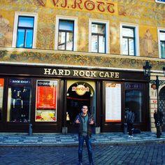 Hard Rock Cafe Prague - visit No. 54 ✔️ (10/31/2016)  #hrcPrague #hrcPraha #hrcPrag #Prag #Prague #Praha #hardRockCafePrague #hardRockCafePraha #hardRockCafePrag #hrc #hardRockCafe #loveAllServeAll #saveThePlanet #allIsOne #takeTimeToBeKinds #thisIsHardRock #hardrockcafé #keeprocking #keeprockin #hardrock #hardRockCollector #cafe #tschechien #czechRepublic