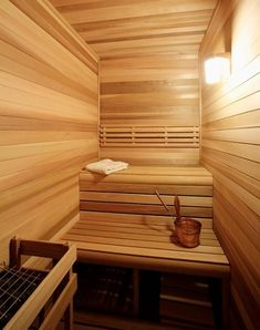 Saunas Provide An Intense, High Heat For Improved Circulation And Detox, While The Lower, Wet Heat Of A Steam Bath Promotes Respiratory Health (by Advanced Renovatiosn Inc.)