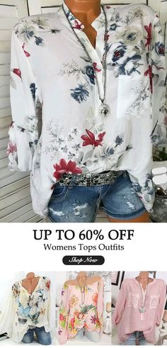 b5e0bed6164a UP TO 52% OFF! Women summer fashion casual shirts.  women  outfits