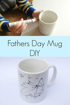 Handmade Gifts for Men: Fathers Day Mug DIY - Crafts on Sea