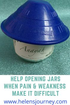 Read about this rubber opener to help opening my Anayah skincare cream jars when pain and weakness make it difficult for me due to Fibromyalgia and chronic fatigue. Chronic Fatigue, Chronic Illness, Chronic Pain, Fibromyalgia, Homemade Body Butter, Mental Health Problems, Health Resources, Skin Care Cream, Glass Containers
