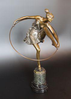 Bronze Figure by Bruno Zach circa 1920