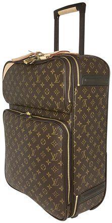 3f6ba11d Louis Vuitton Pégase Pegase'55 Business Suitcase Carry On Brown Monogram  Weekend/Travel Bag
