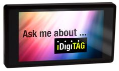 This digital video name tag is a truly attention grabber and ice breaker for networking, events, trade shows, retail, hospitality & personal applications. #digital video name