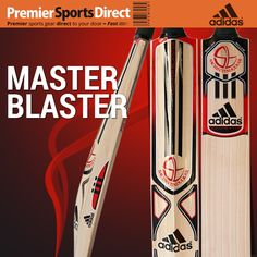 Endorsed by the most celebrated cricketer in the world, Sachin Tendulkar, the Adidas Master Blaster Elite Cricket Bat is designed for those who attack on the front-foot. #sachin #tendulkar #cricket #littlemaster #adidas