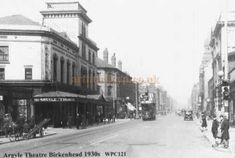 The Argyle Theatre, Birkenhead - From a Postcard. This was still there in the (My father's mother used to take him here. With friends, he used to sneak in or pay with jam jars if he didn't have any money). The Argyle, Walk Past, Cymru, Anglo Saxon, British History, Where The Heart Is, Northern Ireland, Family History, Great Britain