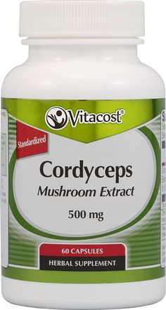 Vitacost Cordyceps Mushroom Extract - Standardized