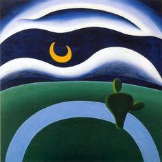 The Moon, 1928-Tarsila do Amaral - Featured Artworks