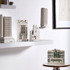 chisel and Mouse:Architectural models of famous  buildings. From £160