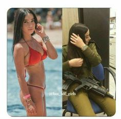 The Stunningly Beautiful Women Of The IDF Idf Women, Military Women, Sexy Bikini, Bikini Girls, Israeli Female Soldiers, Israeli Girls, Brave Women, Military Girl, Girls Uniforms