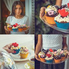 Delightful cupcakes #bisquecafe #beatgroup #cupcakes #tasty #sweets #baku #azerbaijan #pastry #summer2015 #delicious #delightful