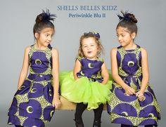 ankara by Shells Belles Kidz ~African fashion, Ankara, kitenge, African women dresses, African prints, Braids, Nigerian wedding, Ghanaian fashion, African wedding ~DKK