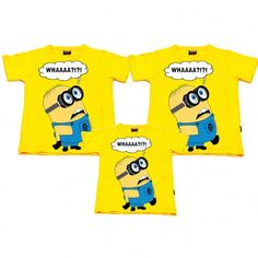 Minion - Whaa Aile T-shirtleri 68.56 TL