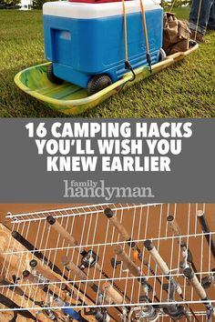 Tent Camping Discover 16 Camping Hacks Youll Wish You Knew Earlier Hack your camping trips with these clever camping ideas tips and tricks. These camping ideas take your outdoor adventures to a new level. Diy Camping, Camping Ideas, Camping Hacks With Kids, Travel Trailer Camping, Camping Glamping, Camping Supplies, Camping Essentials, Camping Survival, Family Camping