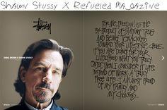 choka: Shawn Stussy X Refueled Magazine
