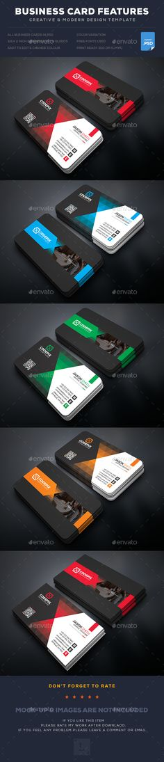 Corporate Business Card Template PSD. Download here: https://graphicriver.net/item/corporate-business-card/17354713?ref=ksioks