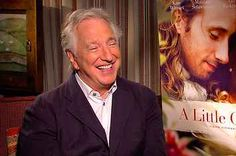 "Alan Rickman On Strong, Brilliant Women And ""A Little Chaos"""