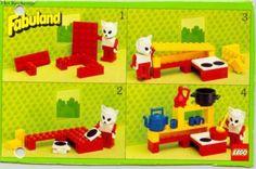 Anleitung 1985 - Fabuland - LEGO instructies en catalogi database - LEGO Bauanleitungen - Jahr - Instructies 1985 - 3795: Kitchen - LEGO Bauanleitungen und Kataloge Bibliothek