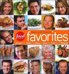 The ultimate collection of favorite recipes from an internationally acclaimed lineup of fabulous chefs: Rachel Ray, Emeril Lagasse, Giada De Laurerntiis, Bobby Flay, Mario Batali, Tyler Florence, Dave