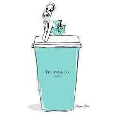 """Monday Coffee in Tiffany Blue!"""