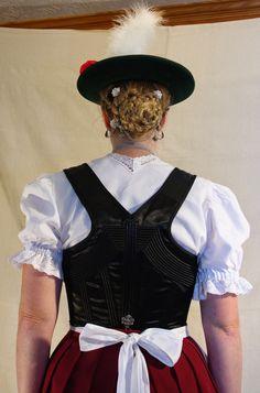 FolkCostume&Embroidery: Women's Costume of Miesbach region, Upper Bavaria, Germany