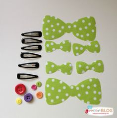 DIY Minnie Mouse Hair Bows - Minnie In Paris - Todays Creative Blog