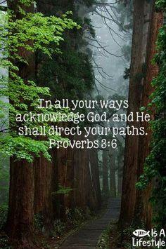 Proverbs 3:6 facebook.com/donttakethemark