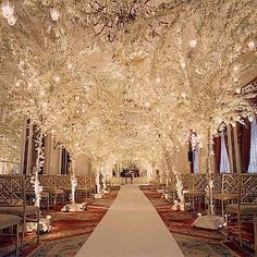 Aisle With Candles And Petals Someday One Day Pinterest 3 Incredible Colorado Winter Wedding Venues