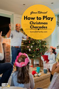 How to Play Christmas Charades: free printable games! Xmas Games, Fun Christmas Games, Holiday Party Games, Office Christmas Party, Country Christmas Decorations, Fun Games, Games For Kids, Christmas Parties, Christmas Time