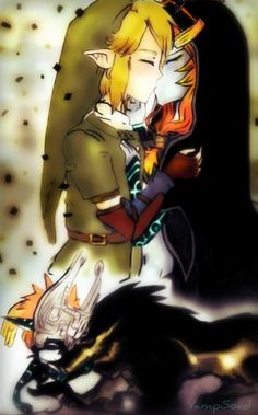 Link and Midna Kissby ~VampiSOAD STOP THAT RIGHT NOW YOUR GIVNG ME WAY TO MANY FEELSSSSSSSS <-- MAJOR FEEEEEELLLLssssss