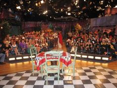 From the @Rachael Ray Show   http://rachaelraymag.tumblr.com/post/27335652783/behind-the-scenes-rachael-ray-show
