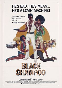 Poster for the film BLACK SHAMPOO (1976)