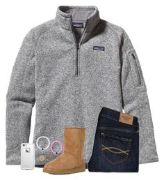 """""""It's Friday!"""" by sweet-n-southern ❤ liked on Polyvore featuring Patagonia, Abercrombie & Fitch, LifeProof and UGG Australia"""
