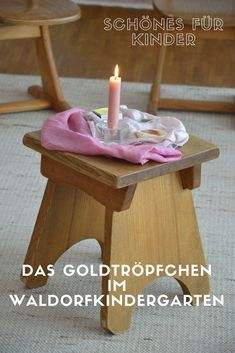 The gold droplet a ritual for children Waldorf Education, Kids Education, Kindergarten Interior, Maria Montessori, Class Projects, Time To Celebrate, Preschool Crafts, Kids And Parenting, Homemade