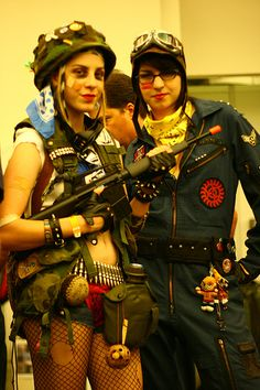( Tank Girl cosplay ) is this starbuck and Amy Farrah Fowler? Girl Costumes, Cosplay Costumes, Tank Girl Cosplay, Tank Girl Comic, Mystique Costume, Steampunk Mechanic, Jet Girl, Female Soldier, Girls Rules